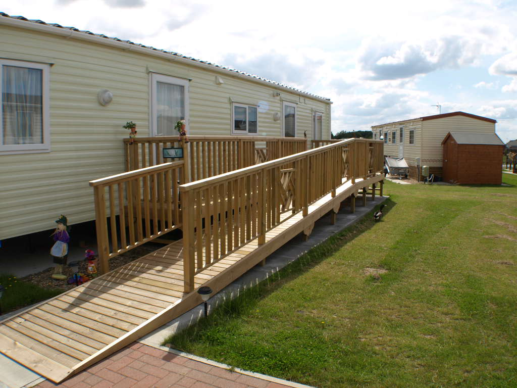Balcony With Wheelchair Access