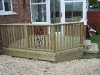 deck to conservatory