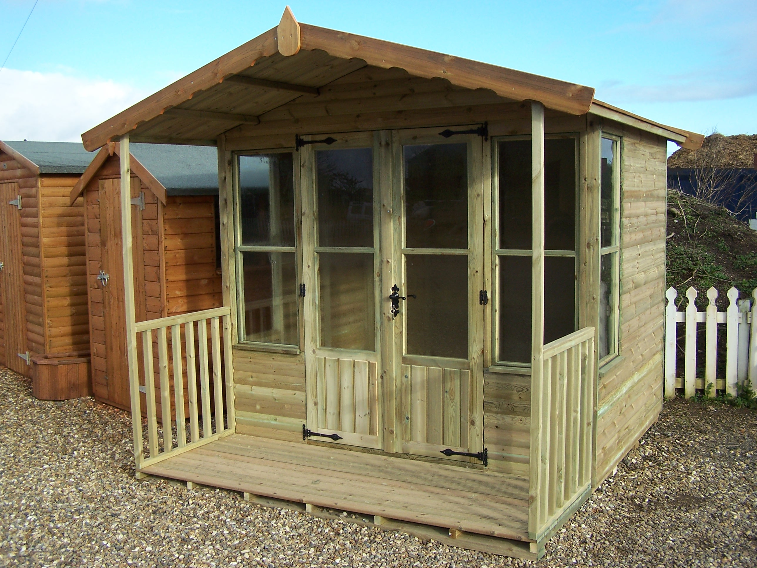 Northorpe joinery offers Summer homes builder