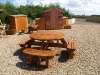 Large Woodland bench ( 8 Seater )